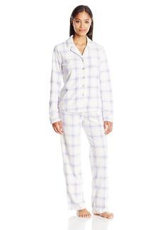 Nautica Women's Microfleece Pajama Set