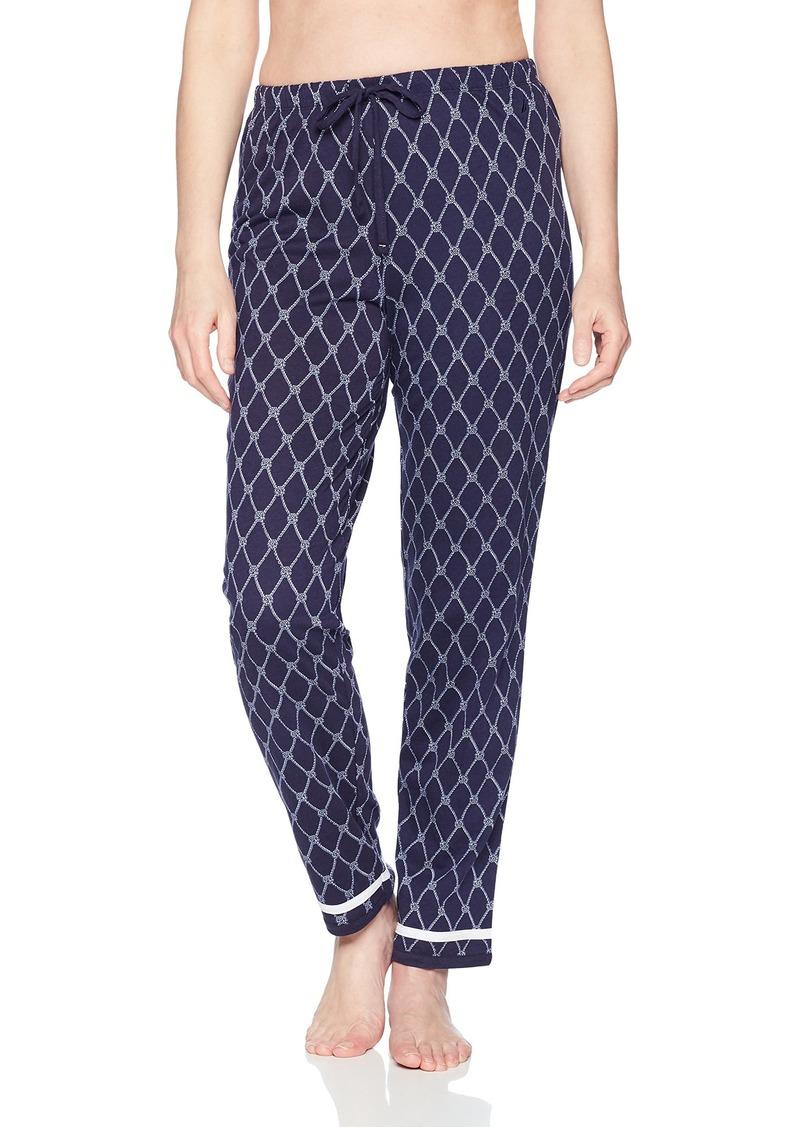 Nautica Women's Novelty Printed Pajama Pant  S