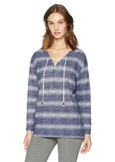 Nautica Women's Ombre Stripe Pullover  XS