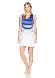 Nautica Women's Ombre Striped Sleepshirt Engineered S