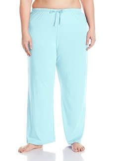 Nautica Women's Plus Size Jersey Long Pant  1X