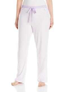 Nautica Women's Plus-Size Long Knit Pant