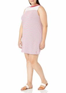 Nautica Women's Plus Size Striped Chemise