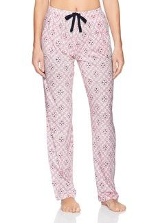 Nautica Women's Printed Jersey Long Pant  M