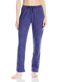 Nautica Women's Printed Jersey Long Pant  XL