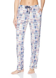 Nautica Women's Printed Knit Long Pant  S