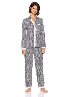 Nautica Women's Printed Pajama Set  S