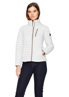 Nautica Women's Short Lightweight Packable Coat