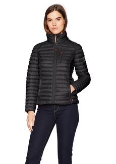 Nautica Women's Short Lightweight Packable Coat  Extra Small