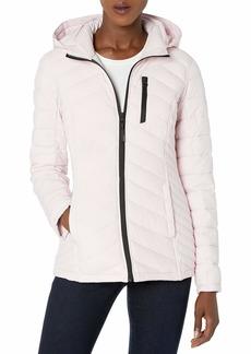 Nautica Women's Short Lightweight Stretch Jacket