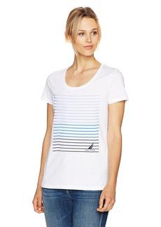Nautica Women's Short Sleeve Graphic T-Shirt