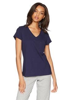Nautica Women's Short Sleeve Pajama Tee  XS
