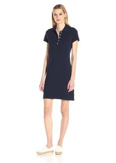 Nautica Women's Short Sleeve Stretch Polo Dress