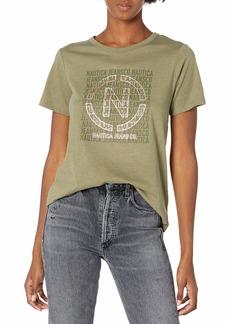 Nautica Women's Soft Cotton Graphic T-Shirt