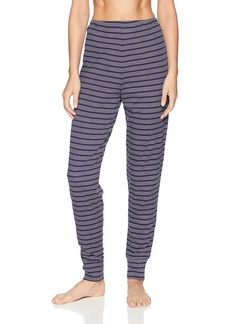 Nautica Women's Striped Jogger Pant Navy S