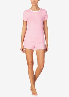Nautica Women's Sweater-Knit Shorty Pajama Set, Online Only