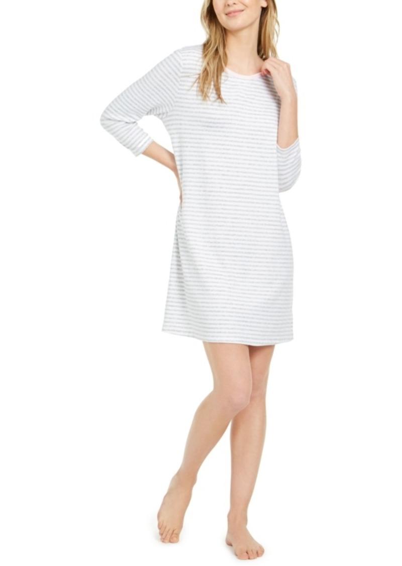 Nautica Women's Sweater Knit Sleepshirt Nightgown, Online Only