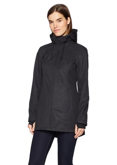 Nautica Women's Water Resistant Printed Jacket