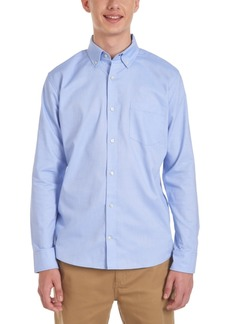 Nautica Young Men Long Sleeve Stretch Oxford