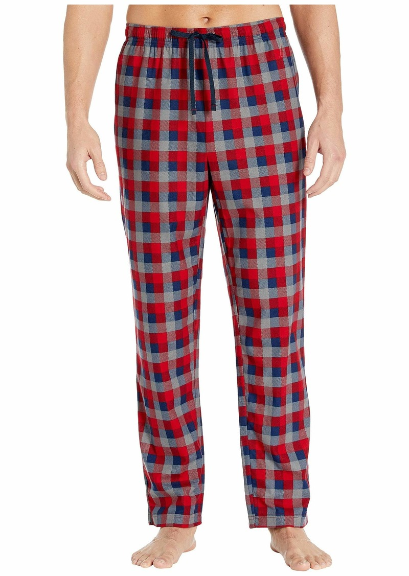 Nautica Plaid Cozy Fleece Pajama Pant
