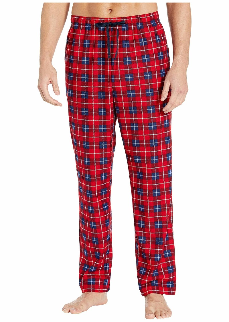 Nautica Plaid Cozy Fleece Pajama Pants