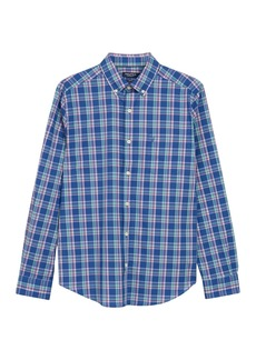 Nautica Plaid Long Sleeve Shirt