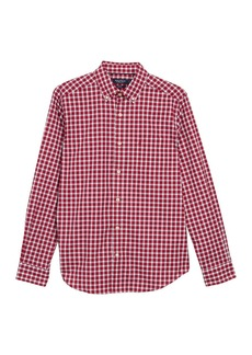 Nautica Plaid Long Sleeve Shirt