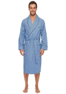Nautica Plaid Lounge Robe