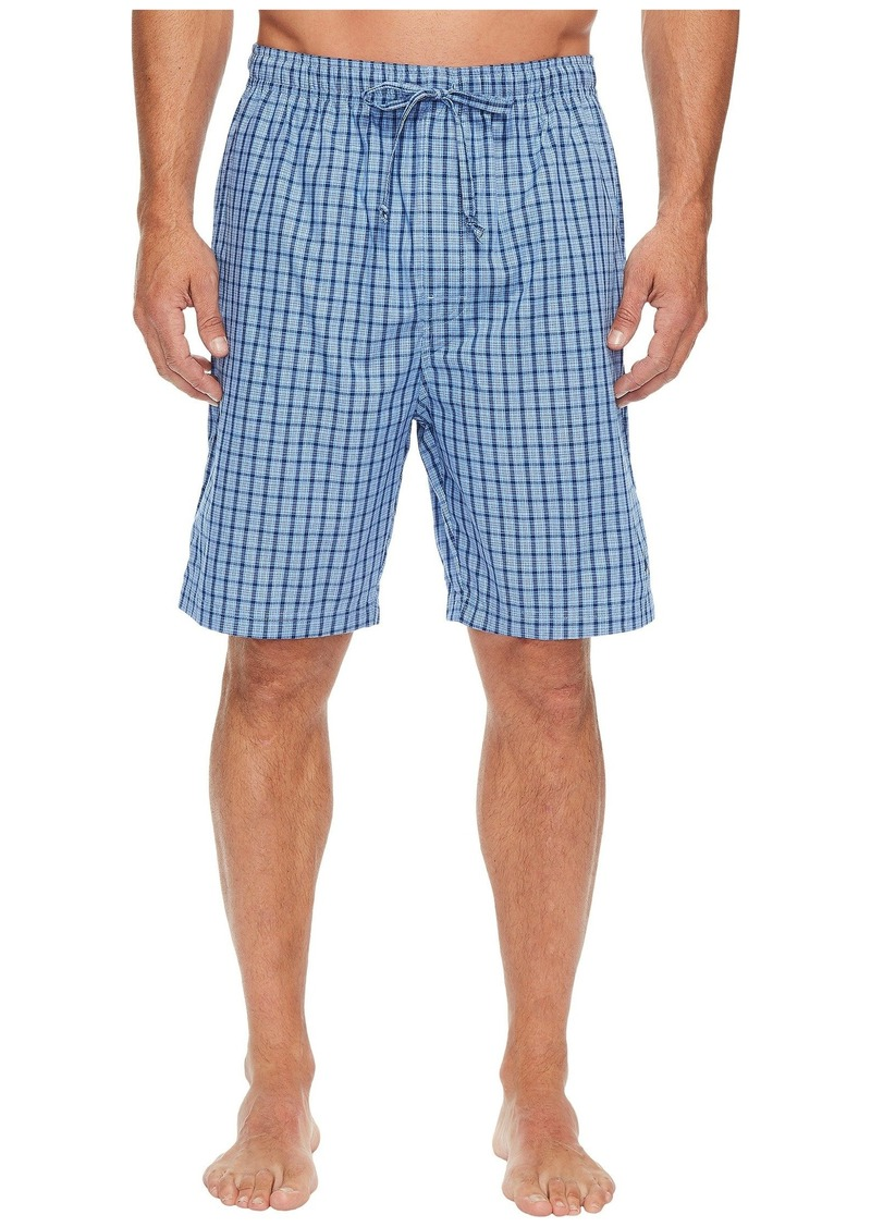 Nautica Plaid Sleep Shorts