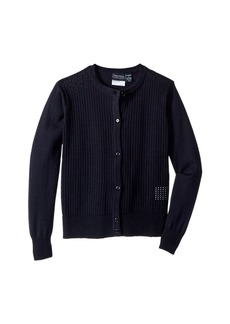 Nautica Pointelle Cardigan (Little Kids)