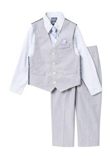 Nautica Polka Dot Oxford Vest Set (Toddler Boys)