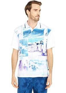Nautica Print Fash Polo