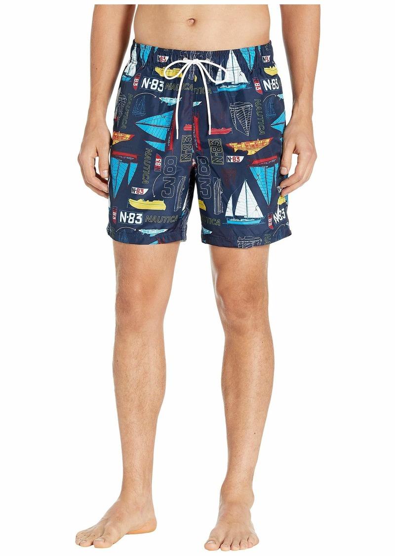 Nautica Printed Swim Short