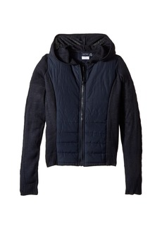 Nautica Quilted Hoodie Sweater (Big Kids)