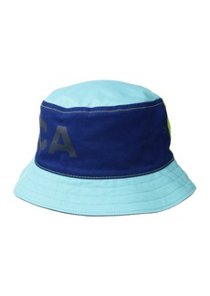 Nautica Reversible Large Logo Print Bucket Hat