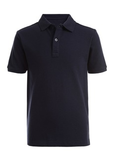Nautica Short Sleeve Double Pique Polo (Little Boys)