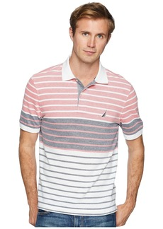 Nautica Short Sleeve Engineered Polo