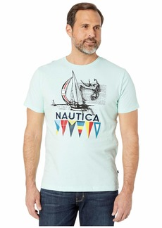 Nautica Short Sleeve Graphic Tee