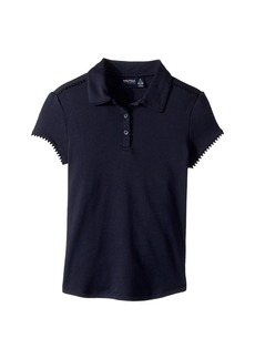 Nautica Short Sleeve Interlock Polo (Big Kids)