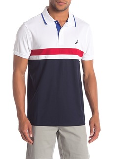 Nautica Short Sleeve Knit Polo