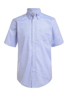 Nautica Short Sleeve Oxford Shirt (Little Boys)