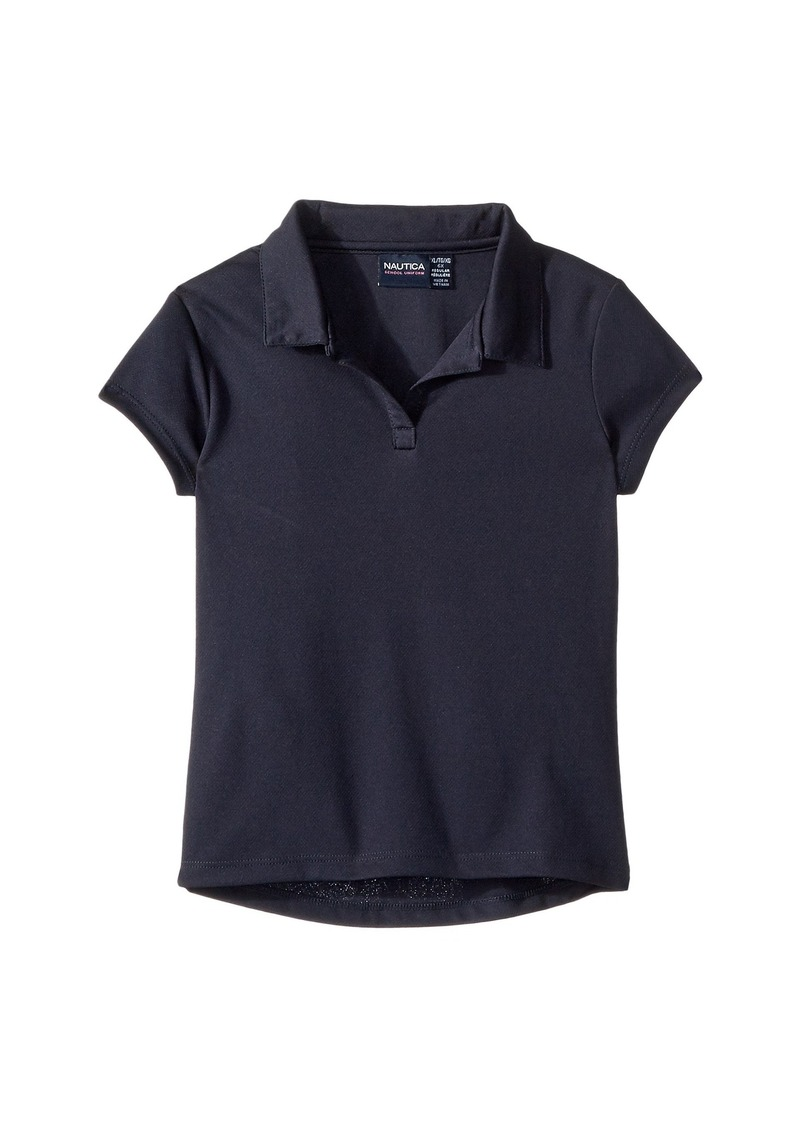 Nautica Short Sleeve Performance Polo (Little Kids)
