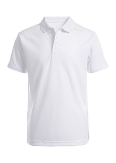 Nautica Short Sleeve Performance Polo Uniform Shirt (Big Boys)