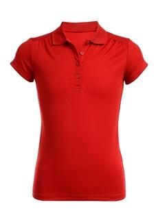 Nautica Short Sleeve Performance Uniform Polo (Girls Plus)