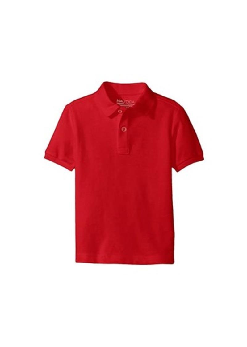 Nautica Short Sleeve Pique Polo (Little Kids)