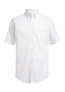 Nautica Short Sleeved Oxford Shirt (Little Boys)