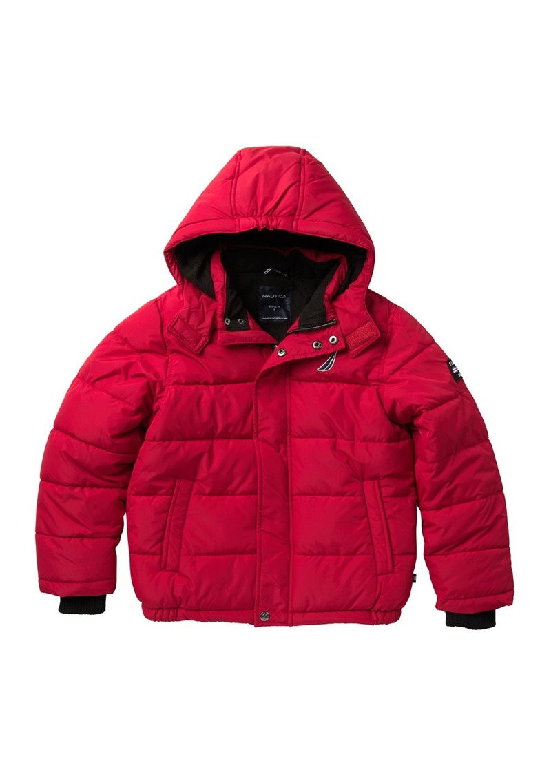 Nautica Signature Bubble Puffer Jacket (Big Boys)