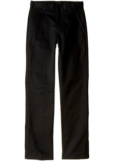 Nautica Slim Fit Flat Front Pants (Big Kids)