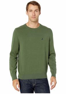 Nautica Solid Crew Neck Sweater