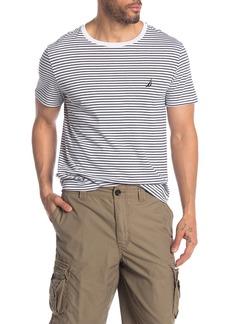 Nautica Stripe Crew Neck T-Shirt